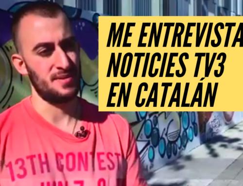 Lucas Amat al Telenoticies Vespre de tv3