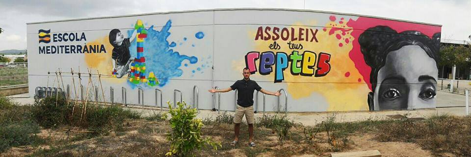 Murales de graffiti Barcelona