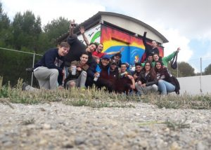 taller de graffiti en institutos