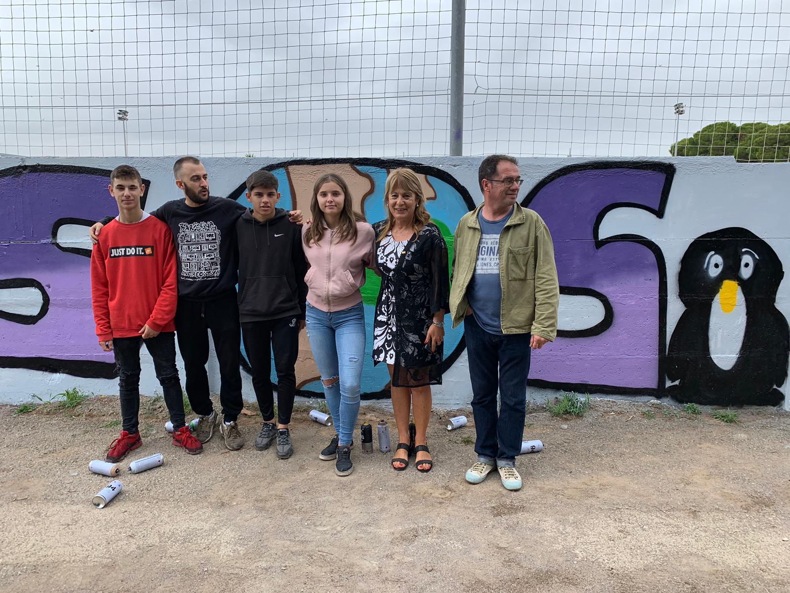 Taller de graffiti en cubelles