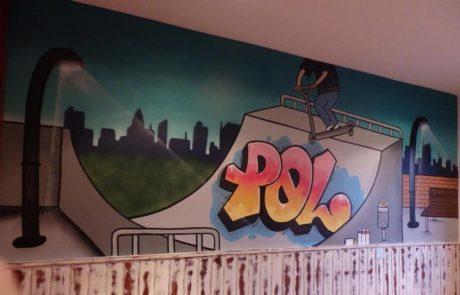 Graffiti habitación Adolescente