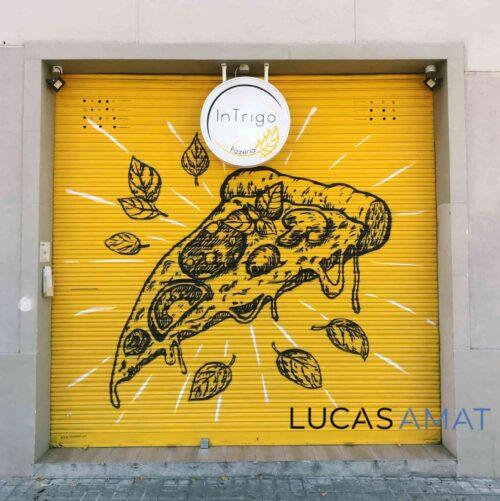 Los mejores graffitis en persianas de comercios de Barcelona