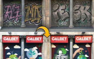 Graffiti Persiana Lucas Amat en Calbet Electrodomestics