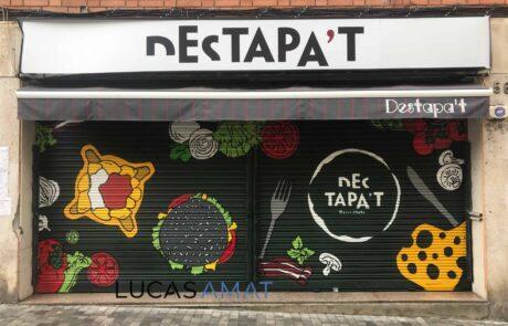 graffiti restaurante