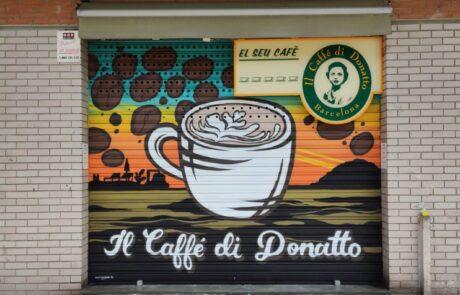 Graffiti Cafeteria Barcelona