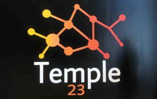Logotipo temple 23