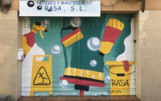 Graffiti Limpiezas Rasa