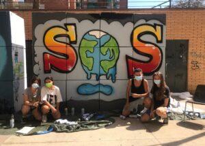taller graffiti medio ambiente